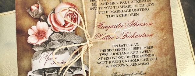 Antique Wedding Invitations Old Vintage Wedding Invitations Need Wedding Idea