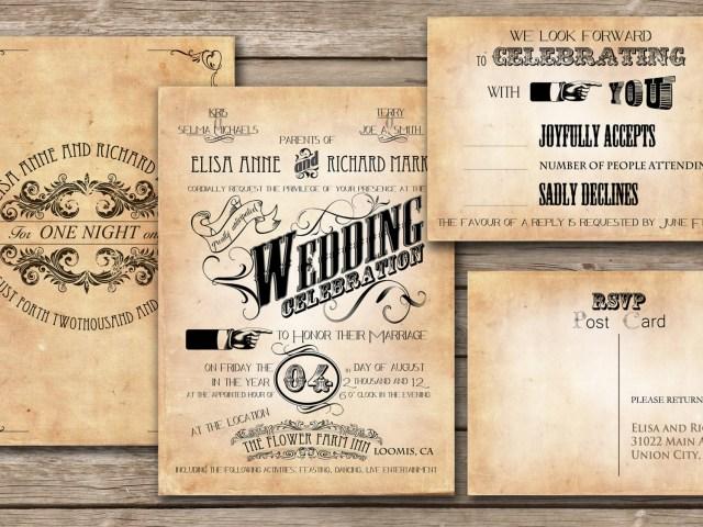 Antique Wedding Invitations Tips To Make An Unforgettable Wedding Invitation Wordinginterclodesigns