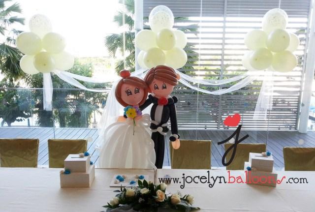 Baloon Decorations Wedding Wedding Balloon Decorations Jocelynballoons The Leading Balloon