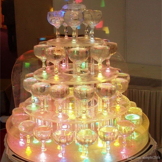 Bar Wedding Decor 2019 Led Ice Cubes Change Water Sensor Light For Bar Wedding