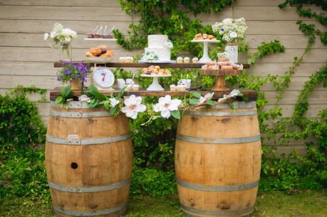 Barrell Wedding Decor Photos Of Joani Wedding Decor