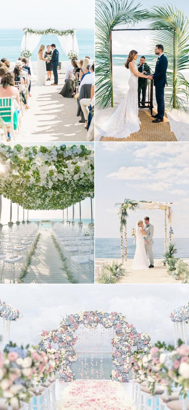 Beach Wedding Ideas 23 Romantic Beach Themed Wedding Ideas Praise Wedding