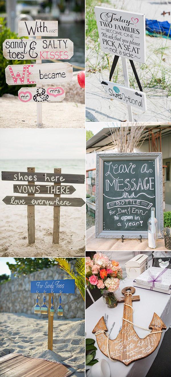 Beach Wedding Ideas 30 Brilliant Beach Wedding Ideas For 2018 Trends Oh Best Day Ever