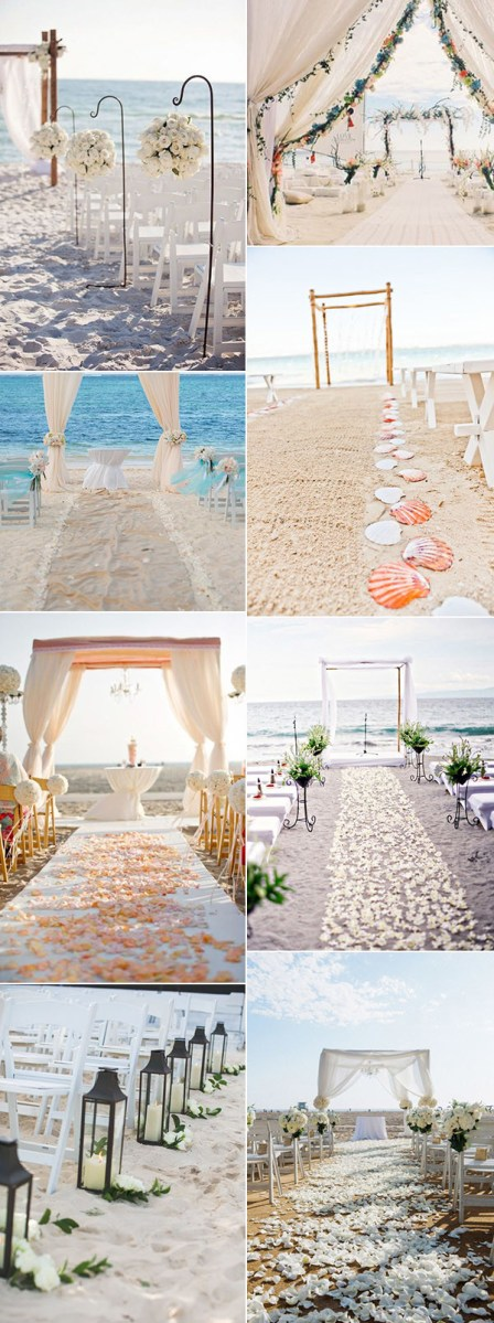 Beach Wedding Ideas 30 Brilliant Beach Wedding Ideas For 2018 Trends Oh Best Day Ever