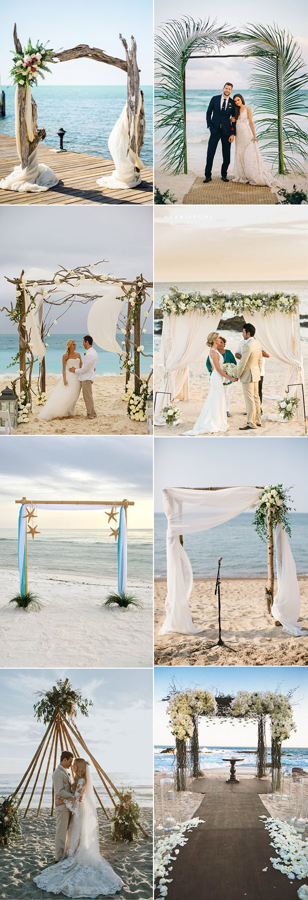 Beach Wedding Ideas 35 Gorgeous Beach Themed Wedding Ideas Elegantweddinginvites Blog
