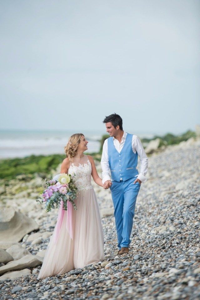 Beach Wedding Ideas Gallery Pink And Blue Whimsical Beach Wedding Ideas