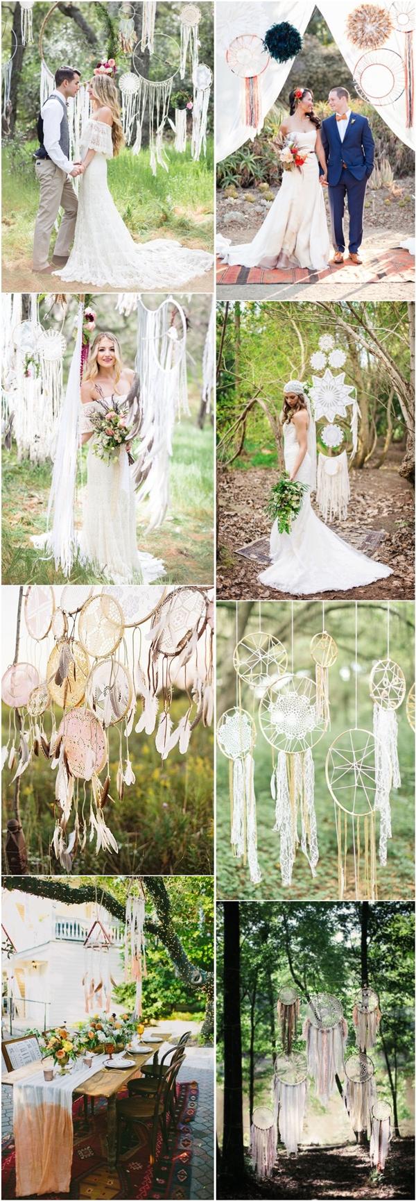 Boho Wedding Decor 30 Dreamcatchers Boho Wedding Decor Ideas Deer Pearl Flowers
