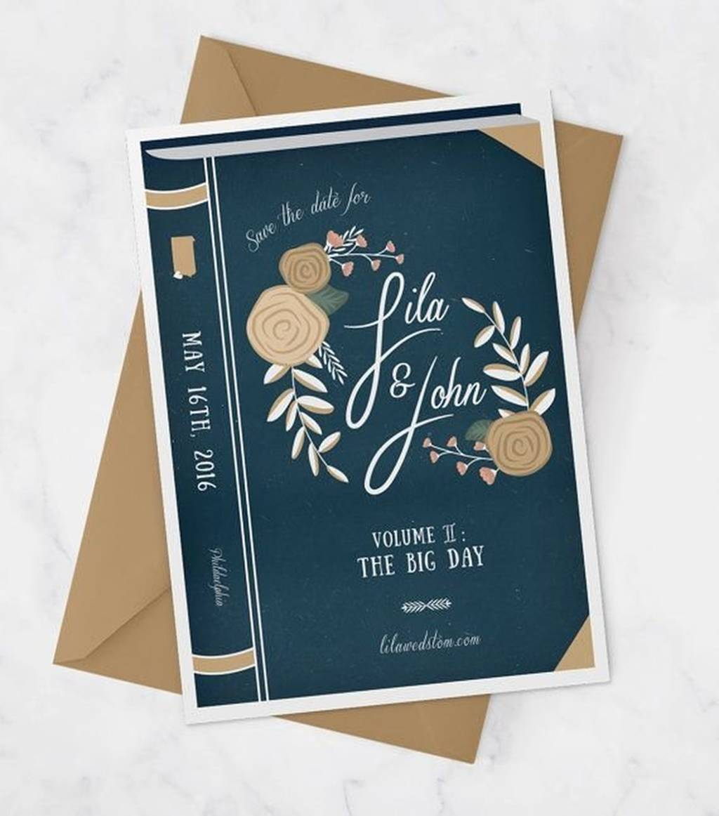 Book Themed Wedding Invitations 206458 Book Themed Wedding Invitations Book Themed Wedding