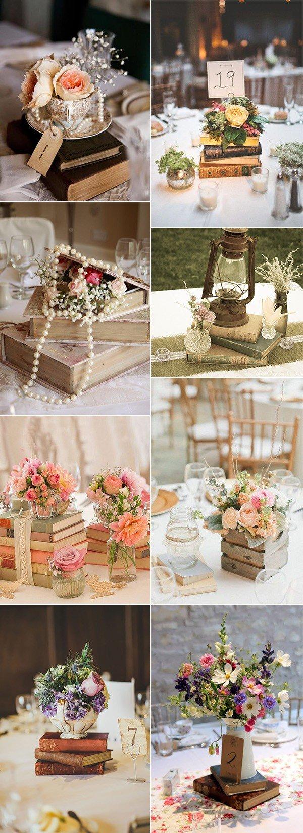Books Wedding Decor Wedding Centerpiece Ideas Archives Oh Best Day Ever