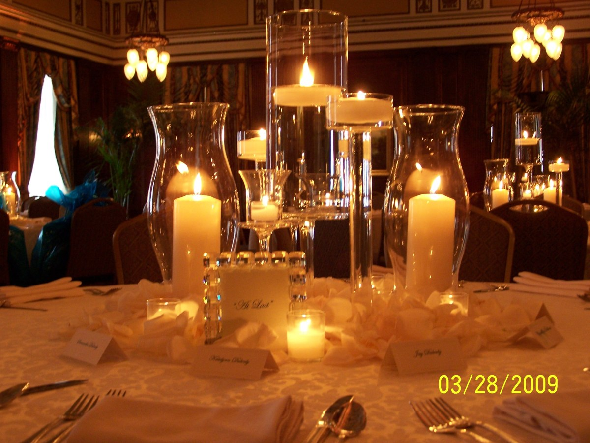Candlelight Wedding Decor Candlelight And Roses At The Hermitage Hotel Nashville Branching