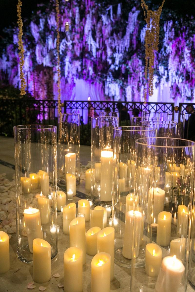 Candlelight Wedding Decor Candlelight Wedding Decor Alejandra Poupel Events