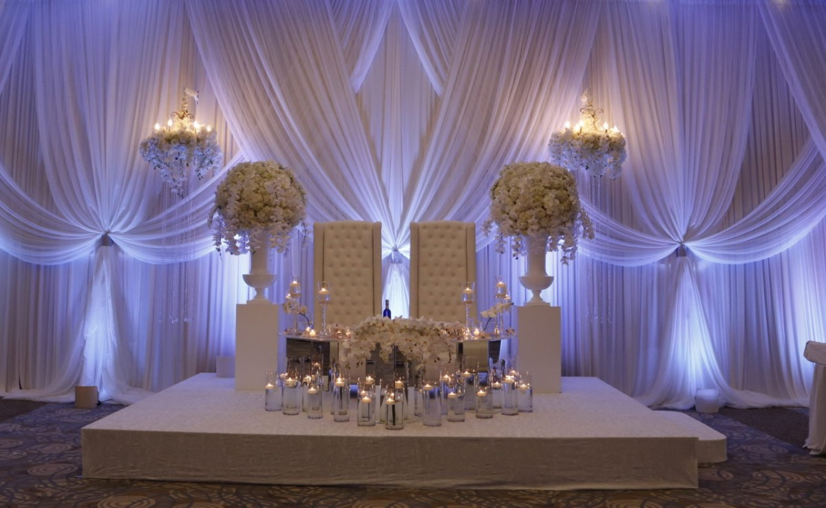 Candlelight Wedding Decor Wedding Stage Dcor Wedding Flowers And Decorations Luxury