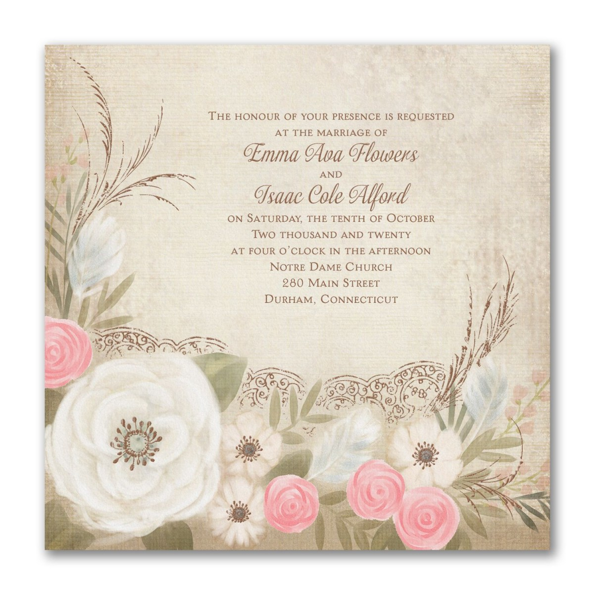 Carlson Wedding Invitations Boho Breeze Invitation 40 Off Carlson Craft Wedding Invitations