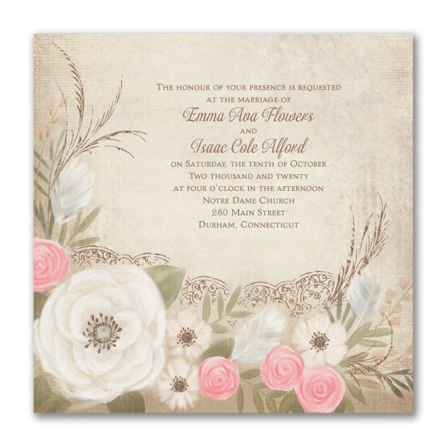 Carlson Wedding Invitations Boho Breeze Invitation 40 Off Carlson Craft Wedding Invitations