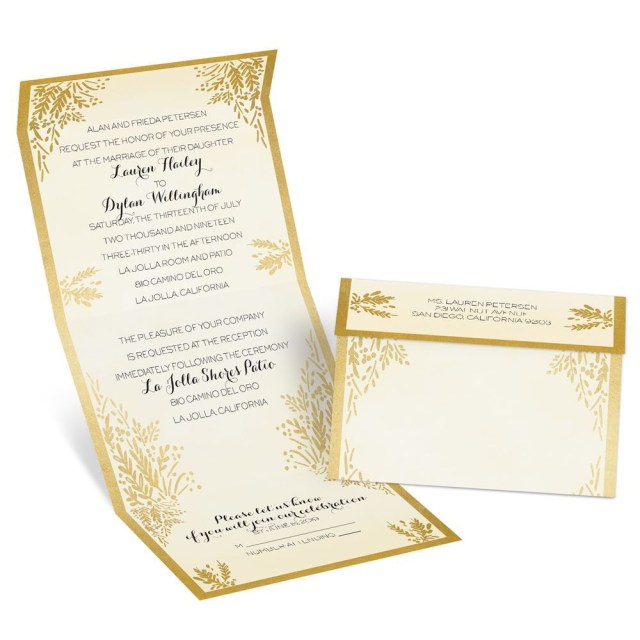 Cheap Invitations Wedding Gold Wedding Invitations Cheap All For Wedding