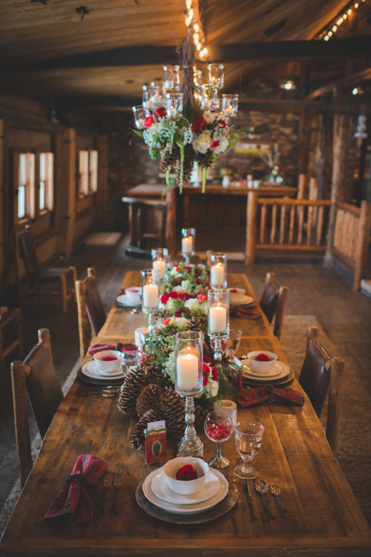 Christmas Wedding Decor 35 Awesome Festive Christmas Theme Winter Wedding Ideas