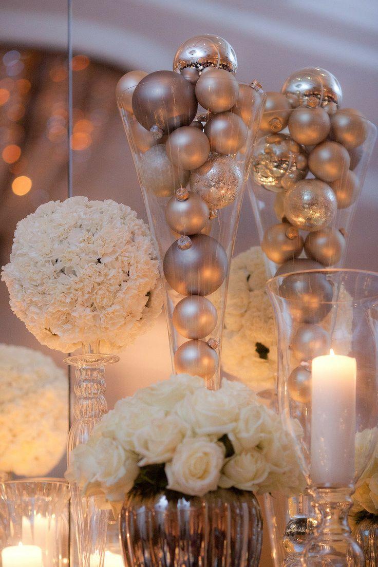 Christmas Wedding Decor 40 Stunning Winter Wedding Centerpiece Ideas Deer Pearl Flowers