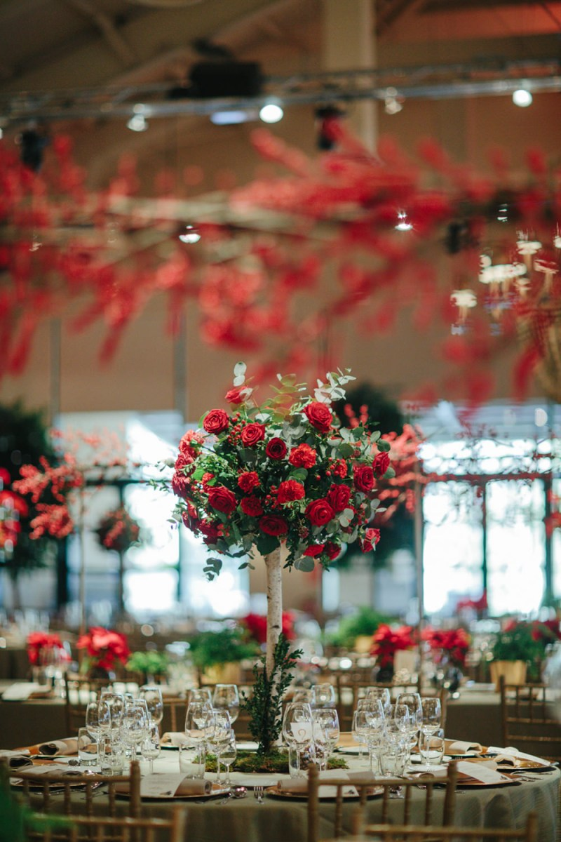 Christmas Wedding Decor Christmas Wedding At La Quinta Del Jarama Madrid Photography