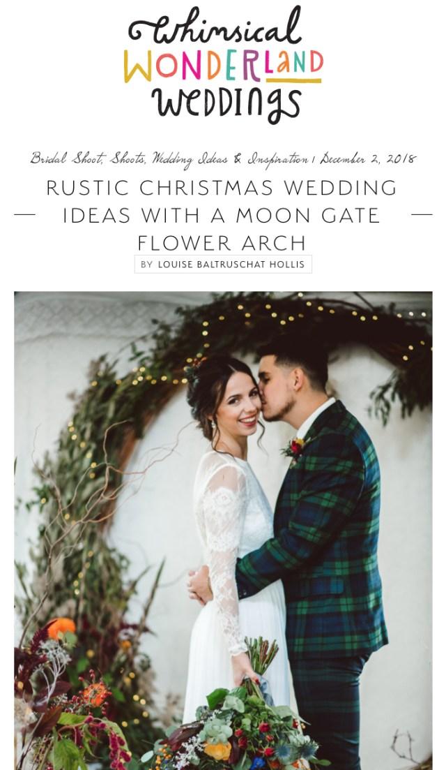 Christmas Wedding Ideas Christmas Wedding Ideas Styled Shoot Whimsical Wonderland Weddings