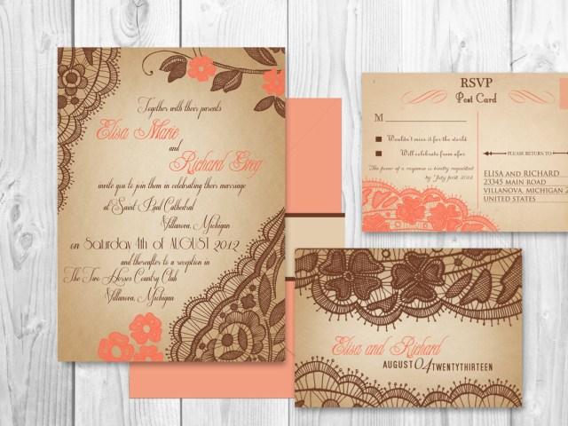 Coral And Grey Wedding Invitations Coral And Grey Wedding Invitations Under Cool Wedding Flowers