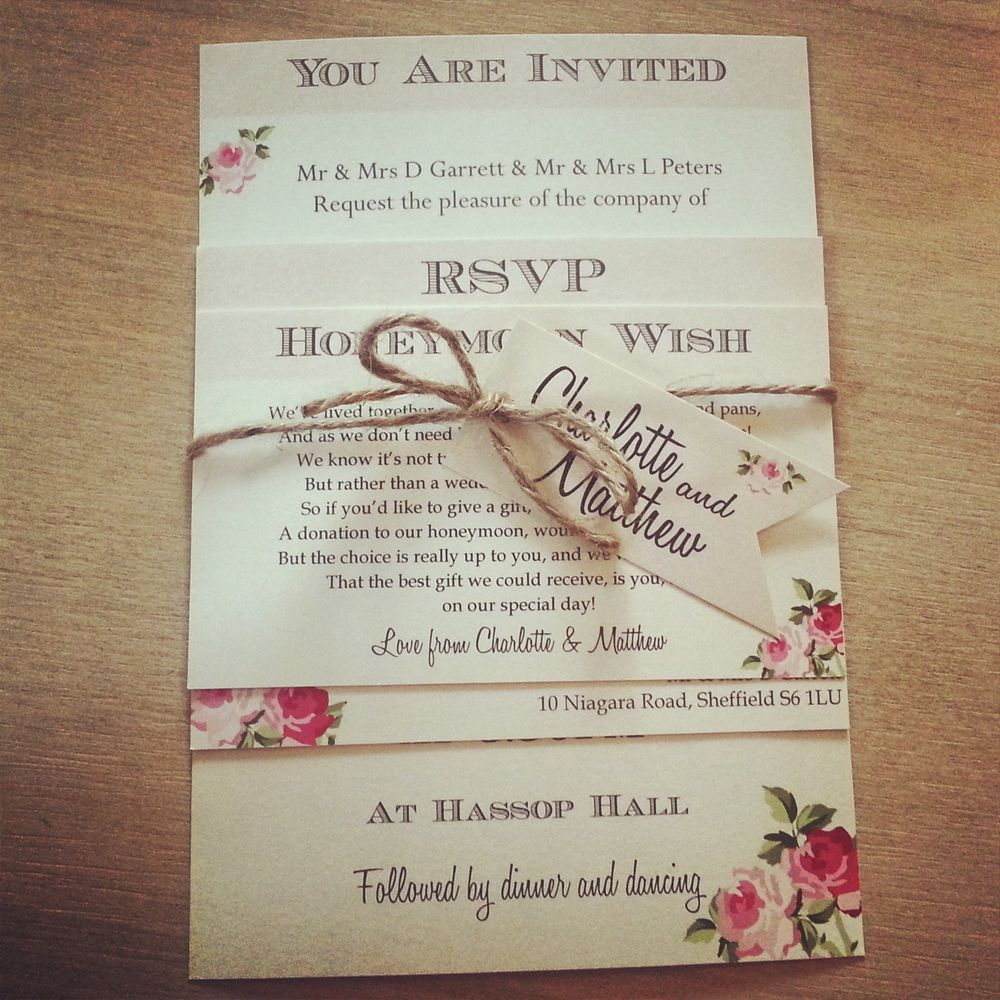 32+ Pretty Photo of Country Chic Wedding Invitations
