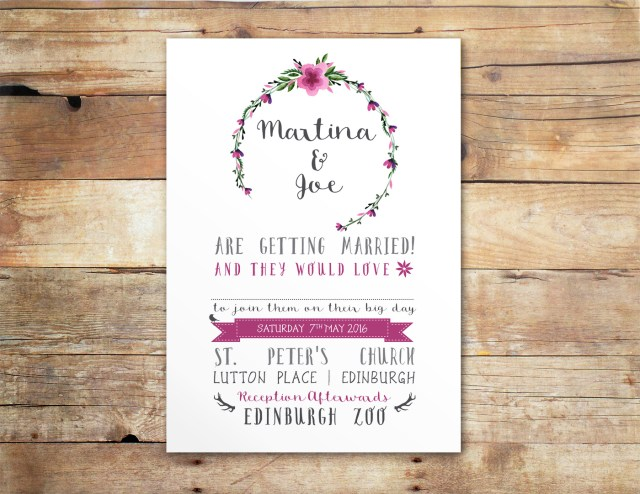 Country Chic Wedding Invitations Rustic Chic Floral Wedding Invitation Little Ivory Weddings