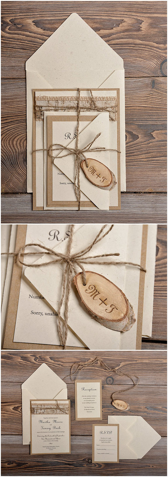 Country Chic Wedding Invitations Top 10 Rustic Wedding Invitations To Wow Your Guests