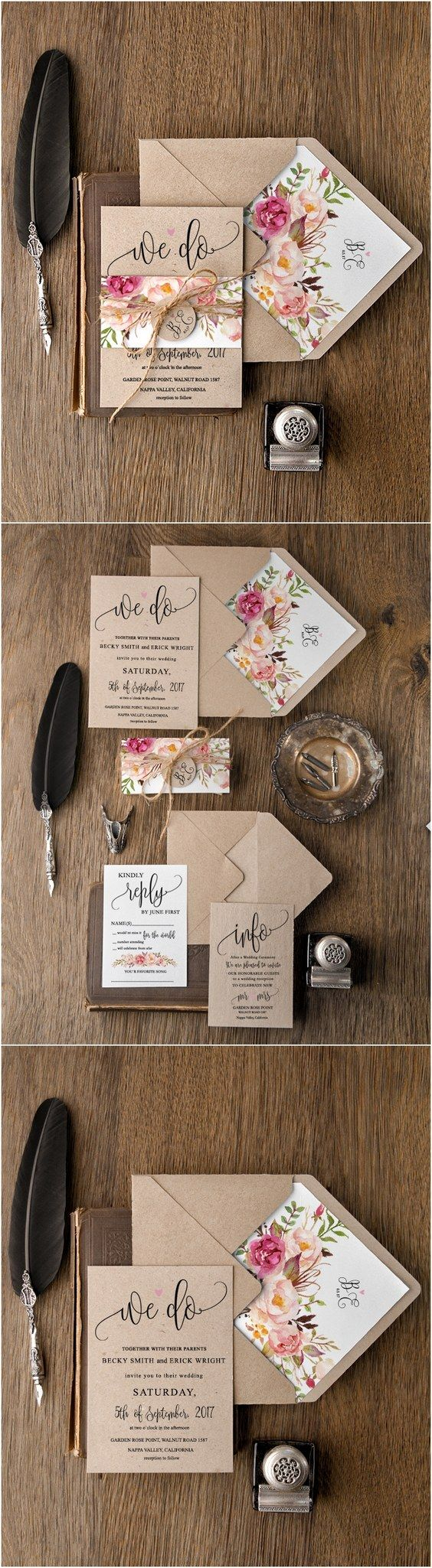 Country Rustic Wedding Invitations 30 Our Absolutely Favorite Rustic Wedding Invitations Deer Pearl