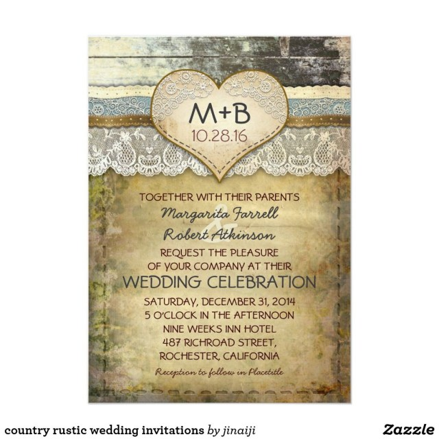 Country Rustic Wedding Invitations Country Rustic Wedding Invitations Pinterest Country Wedding