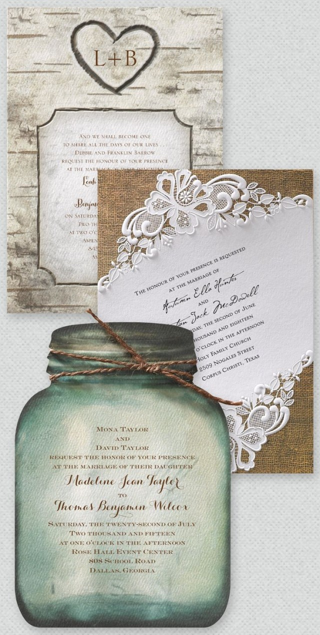 Country Themed Wedding Invitations The Very Best Rustic Themed Wedding Invitations All In One Place