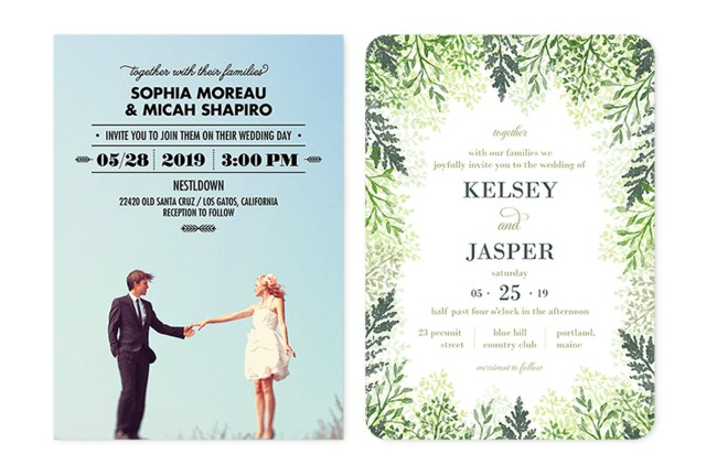 Country Wedding Invitation Wording 35 Wedding Invitation Wording Examples 2018 Shutterfly