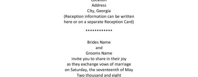 Couple Hosting Wedding Invitation Wording Older Couple Wedding Invitation Wording Wedding Invitation Wording