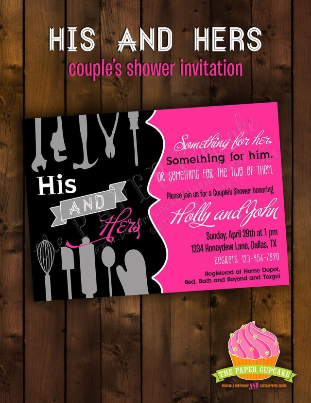 Couples Wedding Shower Invitations Couple Wedding Shower Invitations Wallpaperhawk