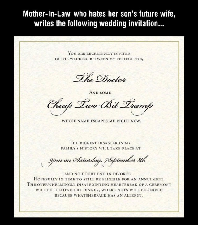Creative Wedding Invitation Wording Funny Wedding Invitation Wordings For Friends Funny Unique Funny