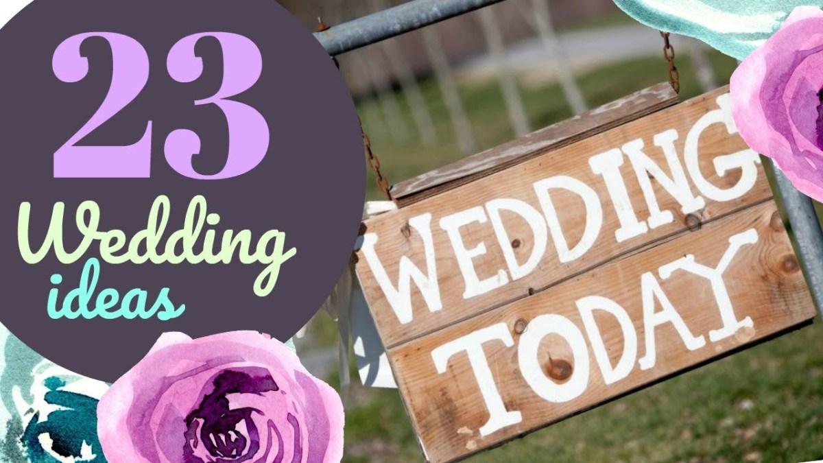 Cricut Wedding Ideas 23 Wedding Ideas With Your Cricut Youtube