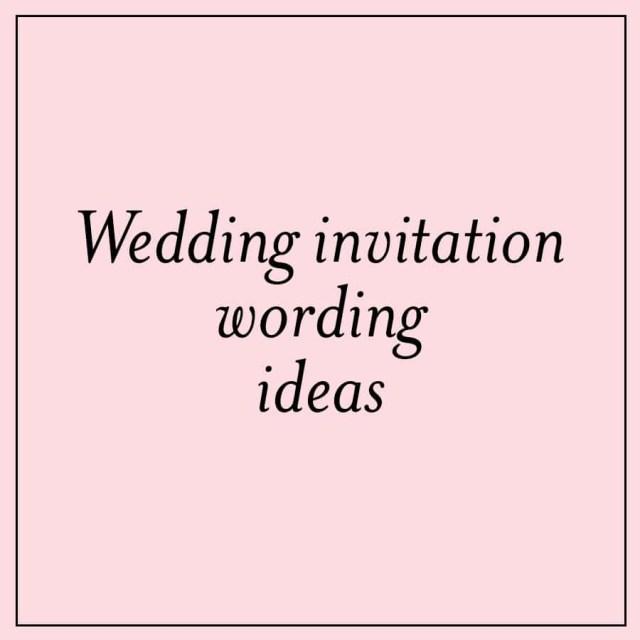 Cute Wedding Invitation Wording Unique Wedding Invitation Wording Ideas Custom Invitations