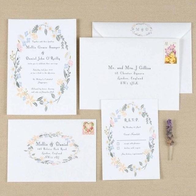 Daisy Wedding Invitations 206458 Daisy Wedding Invitations Royal Blue Aqua Daisy Wedding