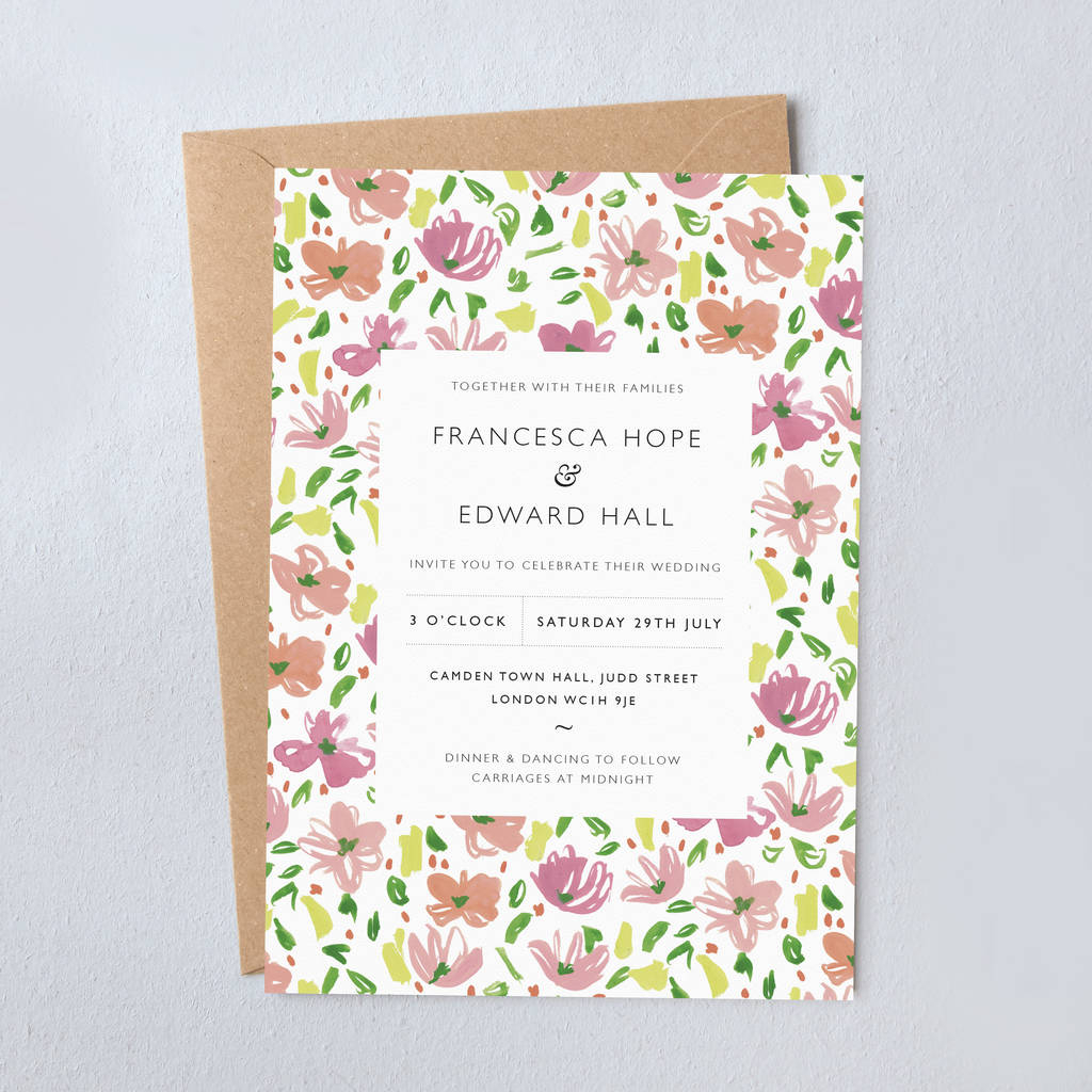 35+ Amazing Picture of Daisy Wedding Invitations