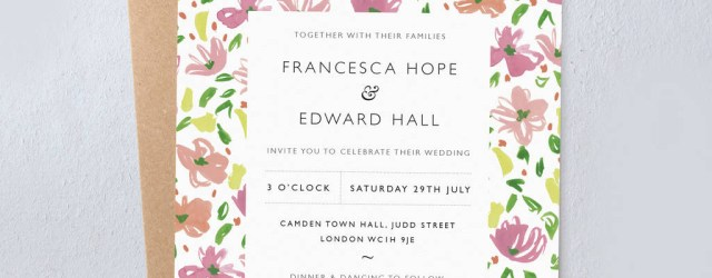 Daisy Wedding Invitations Daisy Wedding Invitations Studio Sophie Notonthehighstreet