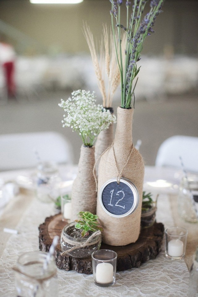 Decor Wedding Diy 7 Wine Bottle Centerpieces To Diy For Your Wedding Wedpics Blog