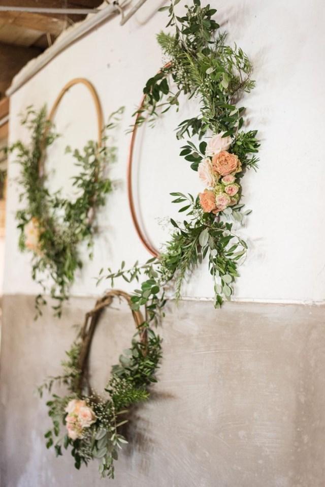 Decor Wedding Diy Hula Hoops Diy Decoration With Flowers For Wedding Wedding