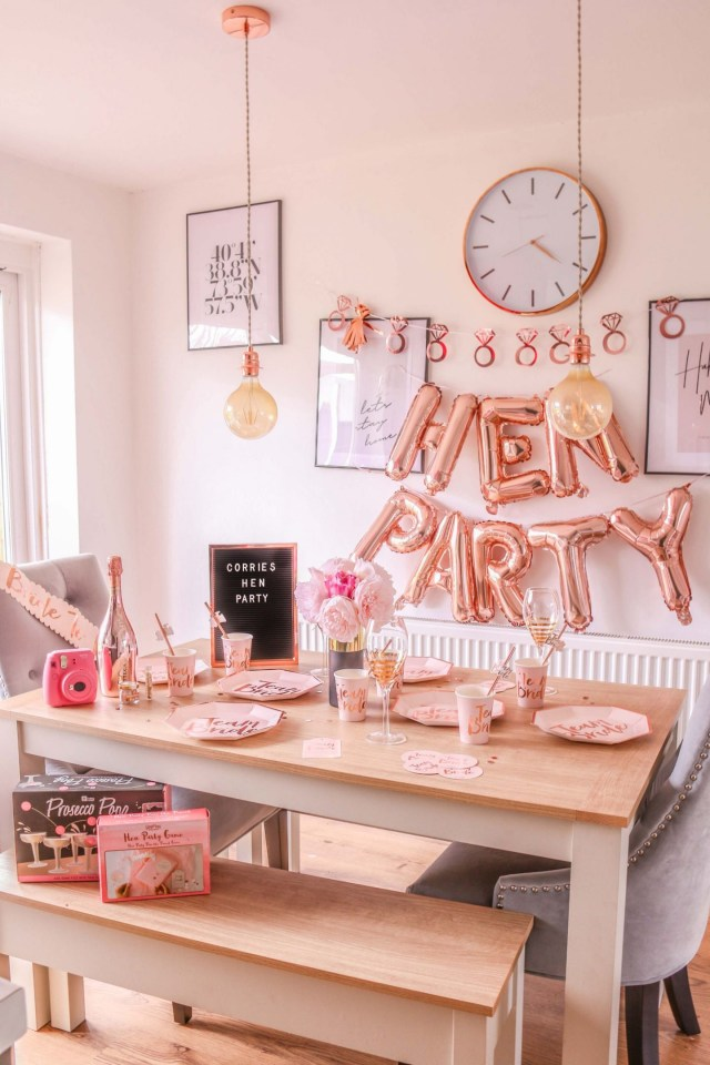 Did Wedding Decorations What I Did For My Hen Party 10 Hen Do Ideas Dizzybrunette