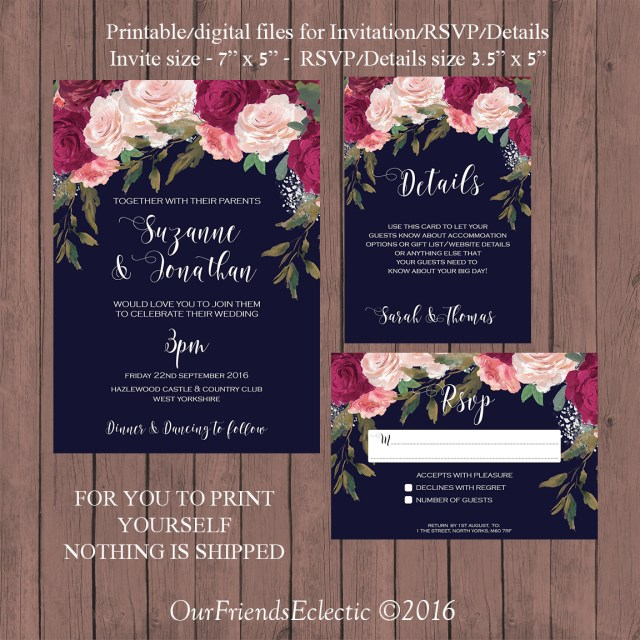 Digital Wedding Invitations Digital Wedding Invitations Digital Wedding Invitations With