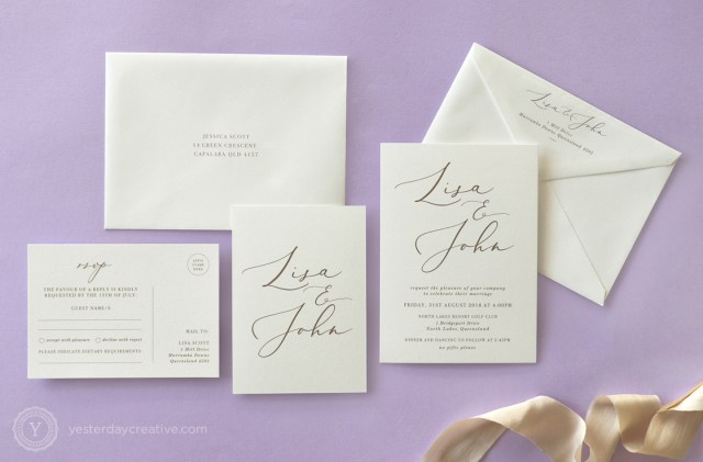Digital Wedding Invitations Elegant Digital Wedding Stationery