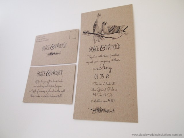 Discounted Wedding Invitations Classic Wedding Invitations Affordable Wedding Invitation Eco