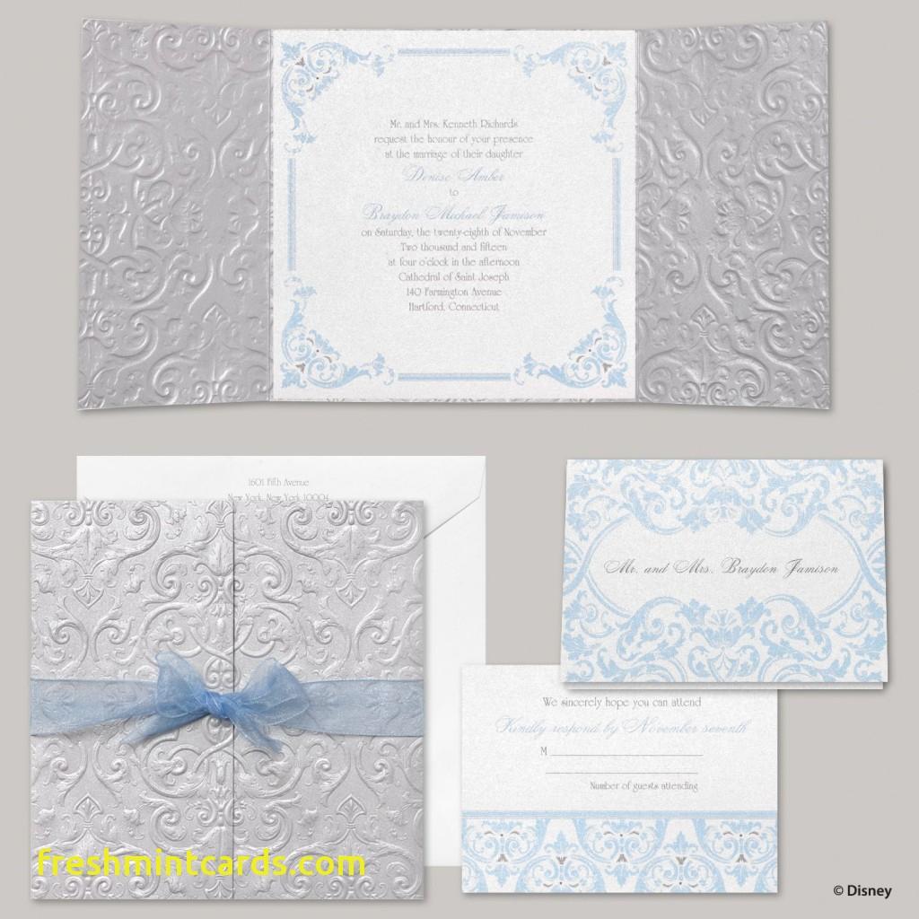 Disney Wedding Invitations Disney Fairytale Wedding Invitations Inspirational Cinderella