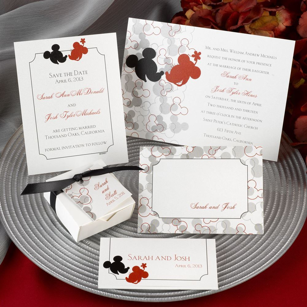27+ Elegant Photo of Disney Wedding Invitations