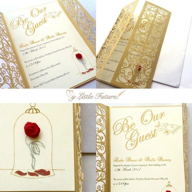 Disney Wedding Invitations Invitaciones Para Tus Quinces Que Te Convertirn En Una Princesa