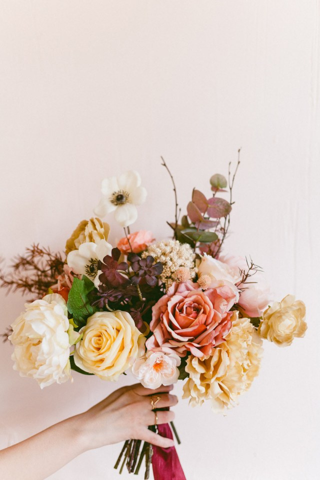 Diy Fall Wedding Ideas Make Your Own Woodsy Wild Bouquet Inspired Autumn Ruffled