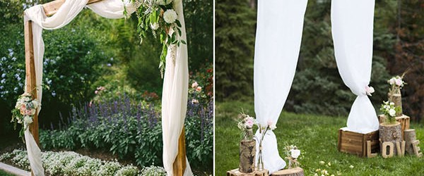 Diy Rustic Wedding 25 Chic And Easy Rustic Wedding Arch Ideas For Diy Brides